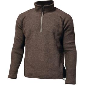 Ivanhoe of Sweden Jesper Sweat-shirt manches longues avec demi-zip Homme, dark khaki